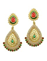 Ethnic Indian Bollywood Jewelry Set Traditional Fashion Imitation EarringsPREA0002MG