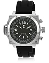 Sd 7024-Bk01 Black/Black Analog Watch