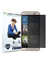 Tech Armor New 2014 HTC One (M9) 4-Way, 360 Degree, Privacy Screen Protector - Hassle-Free Lifetime Warranty [1-Pack]