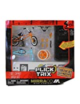 Flick Trix Finger Bike Mirra Co Bike Shop (Orange and Blue Bike Frames)