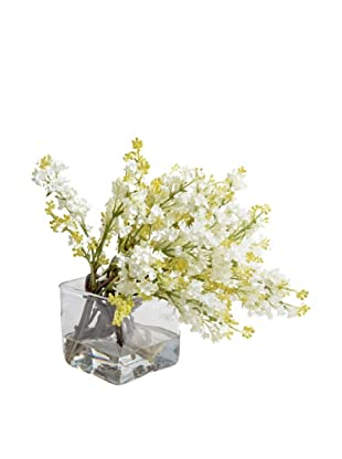 New Growth Designs White Lilac Vase