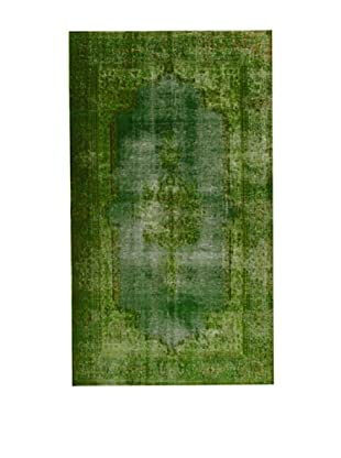 Design Community by Loomier Alfombra Revive Vintage Verde 269 x 154 cm