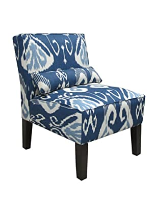 Skyline Armless Chair, Iris