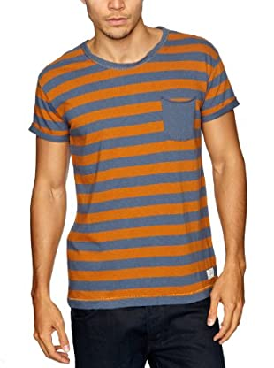 Cottonfield T-Shirt (Orange/Grau)