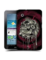 Head Case Designs Music Head Skull of Rock Protective Snap-on Hard Back Case Cover for Samsung Galaxy Tab 2 7.0 P3100 P3110