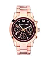Giordano Analog Brown Dial Women's Watch - A2011-44