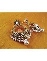 Beautiful huge ramleela earrings