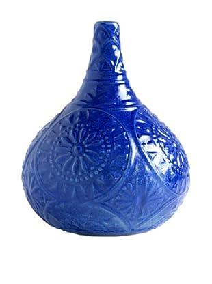 Shiraleah Morena Gourd Vase (Indigo)