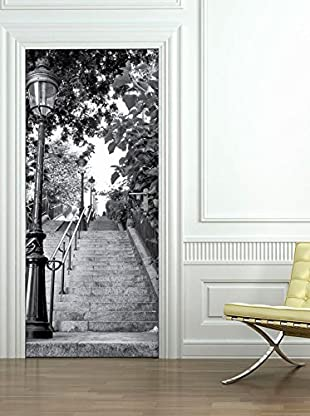 Ambiance Sticker Wandtattoo Door Parisian Stairs