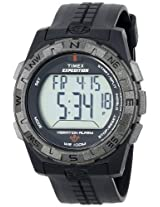 Timex Men's T49851 Expedition Rugged Digital Vibration Alarm Black Resin Stra...