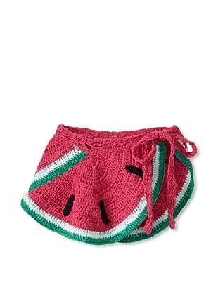 H. Maude Girl's Waltz Skirt (Watermelon)