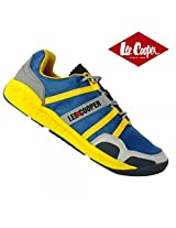 Lee Cooper Men's Sports Shoe 3555 Blue/yellow/grey