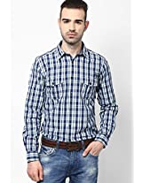 Blue Casual Shirt Pepe Jeans