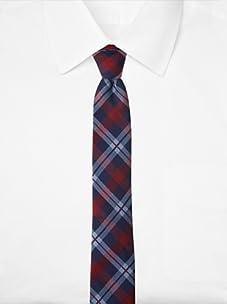 Original Penguin Men's Duvall Plaid Tie (Red)