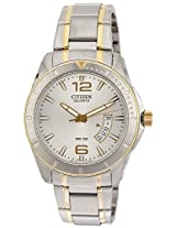 Citizen Analog White Dial Men's Watch - BI0974-52A