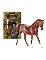 Breyer Canterwood Crest - Take The Reins Horse and Book Set