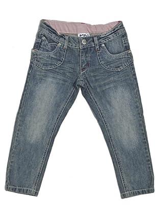 Pantalón Denim 5 Tasche (Azul)