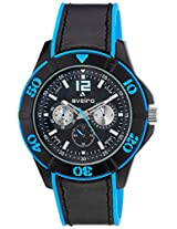 Aveiro Analog Black Dial Men's Watch - AV72BLUBLK