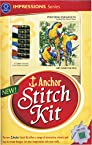 Anchor Stitch Kit - Perching Parakeets