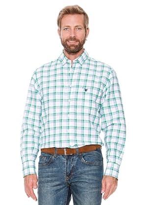 Titto Bluni Camisa Sport Cuadros (Verde)