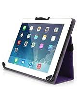 Kroo Universal Multi Fit 8 to 10-Inch Tablet Folio Case with Camera Fold, Purple (MU10EGU1-8383)