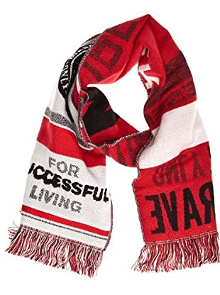 Diesel Bufanda Tan-Val (rojo / blanco)