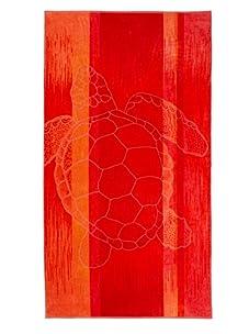 Arkhipelagos Sea Turtle Beach Towel (Red)
