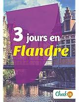 3 jours en Flandre: Un guide touristique avec des cartes, des bons plans et les itinéraires indispensables (French Edition)