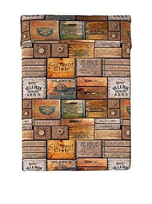 Euromoda Tagesdecke Wood Box