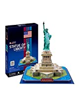 Statue Of Liberty 39pcs Cubic Fun 3 D Jigsaw Puzzle