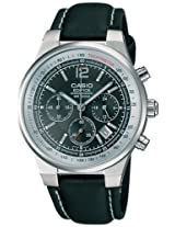 Casio Edifice Tachymeter Analog Black Dial Men's Watch - EF-500L-1AVDF (ED110)