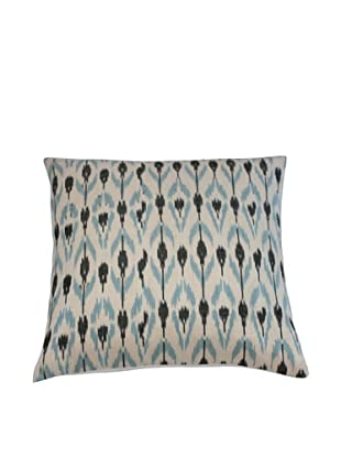 Filling Spaces Ikat Handloomed Pillow, Grey