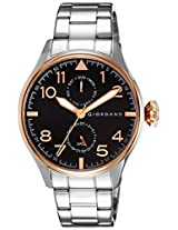 Giordano Analog Black Dial Men's Watch - 1719-33