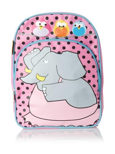 D&N Kids Ballerina Elephant Backpack