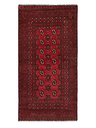 eCarpet Gallery One-of-a-Kind Hand-Knotted Khal Mohammadi Rug, Red, 3' 4