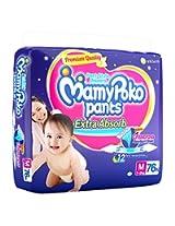 MamyPoko Extra Absorb Medium Size Pants (76N)