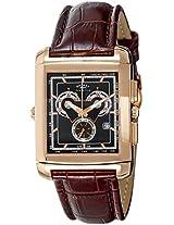 Rotary Analog Black Dial Men's Watch-EGS0005TZ20304