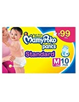 Mamy Poko Pant Standard Style Medium Size Diapers (10 Count)