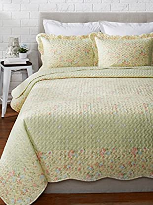 Eileen West Country Garden Quilt Set