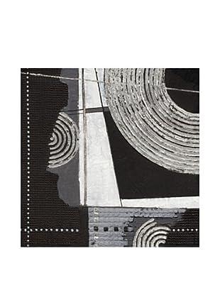 PlatinArt Cuadro Silver Symphony I 40 x 40