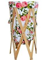 SuperDeals Flora Laundry Basket