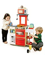 Little Tikes Cook 'n Store Kitchen Playset, Red