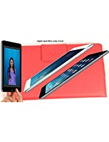 SVVM Case cover for Apple Ipad Mini Synthetic Lather Case cover Magnetic Closer Model : SVVM003IPMCR (Red)