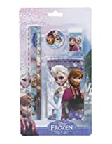 Frozen MBE-WDP0425 Stationery Set, Blue (5 Pieces)