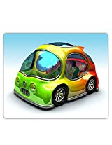 Lovely Collection Bright Colourful Car Mousepad