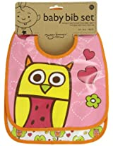 Sugarbooger Mini Bib Gift, Set of 2, Hoot
