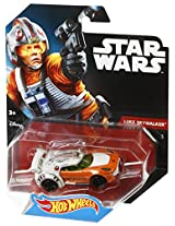 Hot Wheels Star Wars Lukee Sky Walker Character Car, Multi Color