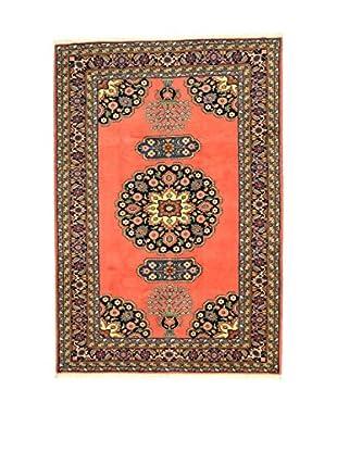 L'Eden del Tappeto Teppich Ardebil rot/mehrfarbig 295t x t201 cm