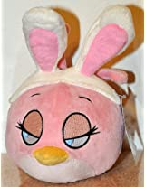 Angry Birds Pink Bird Stella With Bunny Ears No Sound