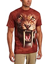 The Mountain Men's Sabertooth Tiger T-shirt